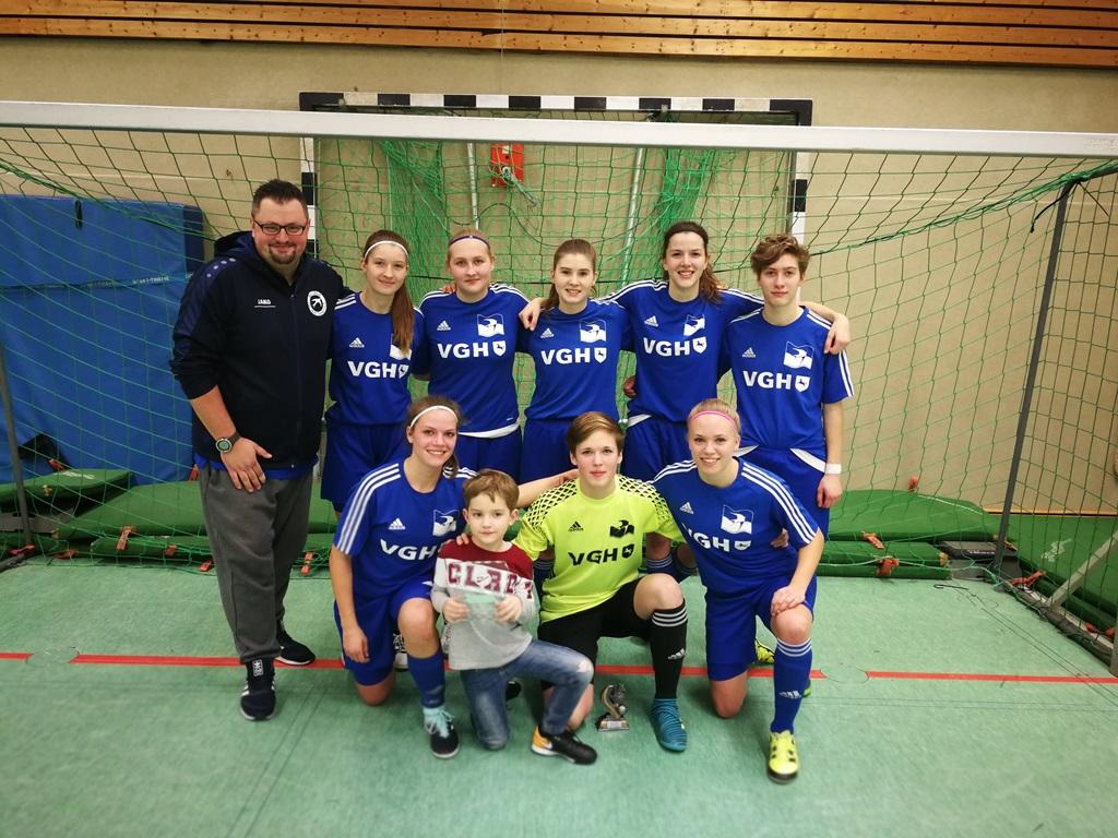 HSC BW Tündern I gewinnt die Ladies-Trophy 2018