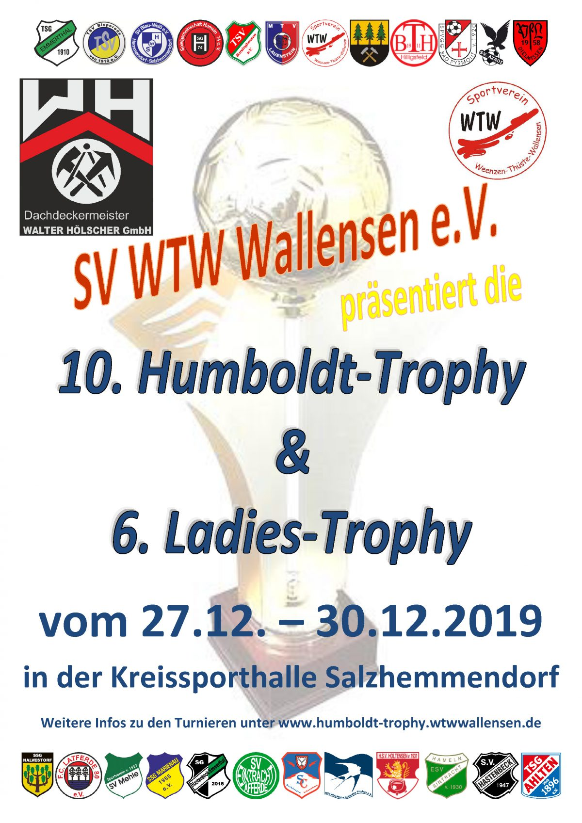 10. Humboldt-Trophy & 6. Ladies-Trophy 2019