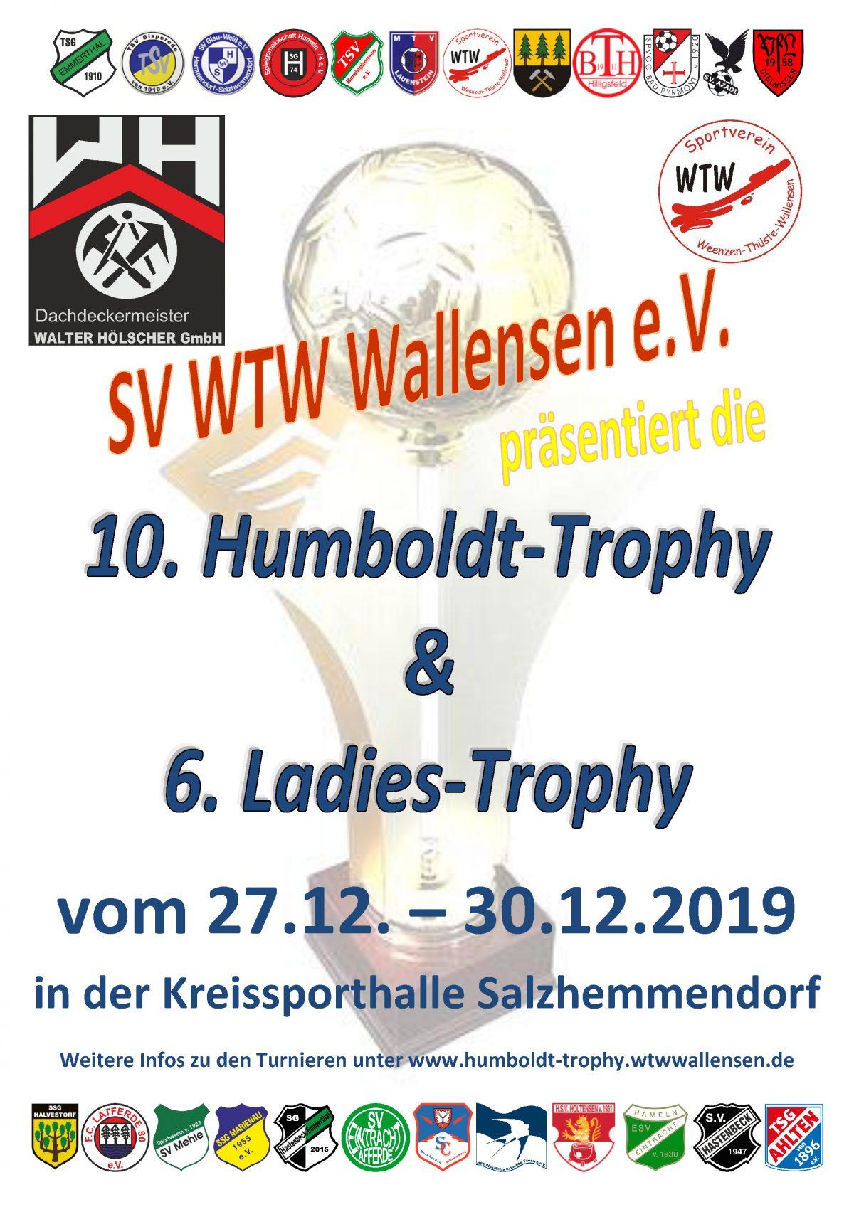 10. Humboldt-Trophy & 6. Ladies-Trophy 2019